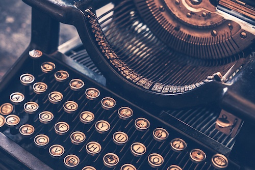 bigstock-Antique-Typewriter-74143765