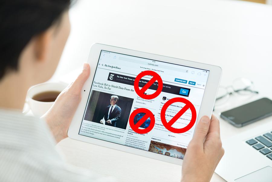 Adblock on iPad