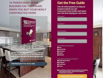 Valecraft Ebook Landing Page