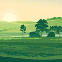 farm-silhouette